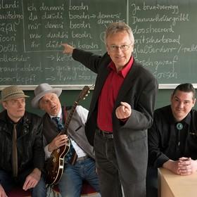 Bild: Gräschkurs Fränkisch - H. Haberkamm und die Skinny Winni Band