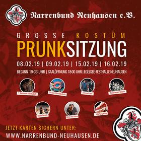 Bild: Große Kostüm-Prunksitzung des Narrenbund Neuhausen e.V. - Schöne Stunden karnevalistischer Unterhaltung, Neuhäuser Fastet und Freude!