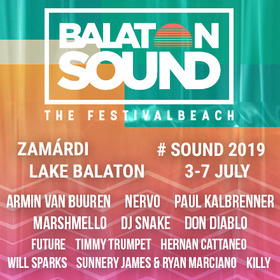 BALATON SOUND 2019 - 3 Tages Ticket - VIP upgrade (3-5 July)