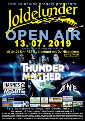 Bild: Joldelunder Open Air - Oppn Dörp geiht das aafff....!!!