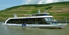 Bild: Silvester auf dem Rhein 2018 / 2019 - GALA Schiffahrt von Bingen nach Mainz und zurück