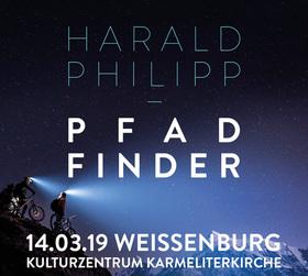 Bild: PFAD-FINDER Mountainbike-Abenteuer - Multimedia-Live-Vortrag von Harald Philipp