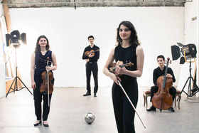 Holzhausenkonzerte - Streichquartettfesttage - Konzert mit dem Quatuor Tchalik