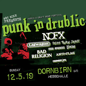 Bild: PUNK IN DRUBLIC Festival - NOFX, Bad Religion, LagWagon, Anti Flag, Less Than Jake, The Real Mckenzies, The Lillingtons, The Bombpops