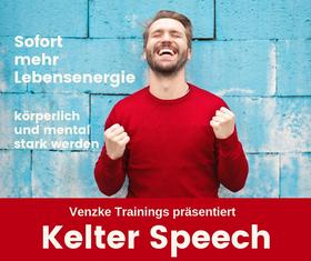 Bild: Kelter Speech - Sofort mehr Lebensqualität