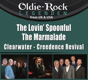 Bild: The Lovin' Spoonful & Marmelade. Clearwater Creedence Revival