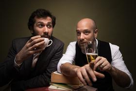Bild: Stefan Leonhardsberger & Stephan Zinner: Kaffee und Bier