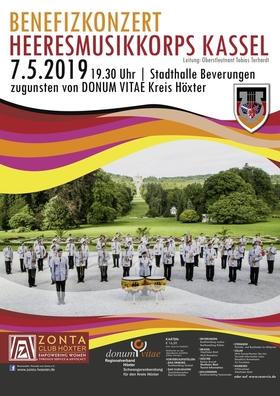 Bild: Benefizkonzert Heeresmusikkorps Kassel - zugunsten von Donum Vitae