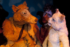 Bild: Die Berliner Stadtmusikanten - Puppenspiel-Komödie mit Charme und Musik für Erwachsene und Jugendliche