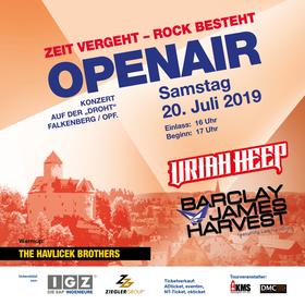 Bild: Zeit vergeht-Rock besteht -Uriah Heep & Barclay James Harvest feat. Les Holroyd