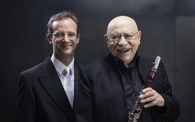 Bild: Giora Feidman – Klarinette, Sergej Tcherepanov - Orgel - From Classic to Klezmer