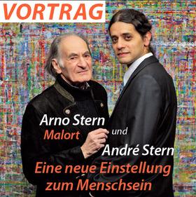 Bild: Arno Stern und André Stern