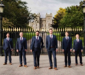 "Bild: Musiker Ihrer Majestät - The Queen's Six - ""Royal Windsor - Then and now"