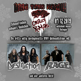 Bild: Bang Your Head!!! - Crazy X-Mas III 2019