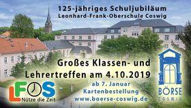Bild: 125-jähriges Schuljubiläum - Leonhard-Frank-Oberschule Coswig