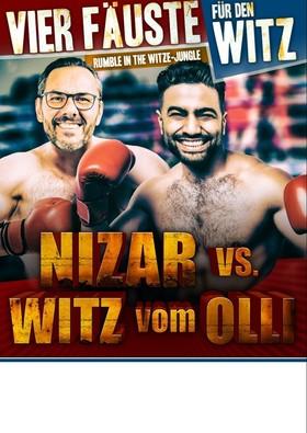 """NIZAR vs. WITZ vom OLLI - """"Vier Fäuste für den Witz"""""""