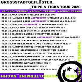 Bild: GROSSSTADTGEFLÜSTER - TRIPS & TICKS TOUR 2020