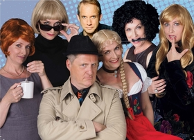 Bild: Krimi Impro mit Herrn Hämmerle