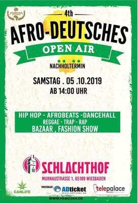 Bild: 4th Afro Deutsches Open Air