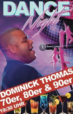 Dominick Thomas - Disco-Dance-Night - 70er, 80er & 90er
