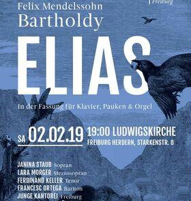 Bild: Elias, Mendelssohn - in der Fassung für Klavier, Pauken und Orgel