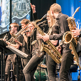 Bild: Bigband der Musikschule Baunatal