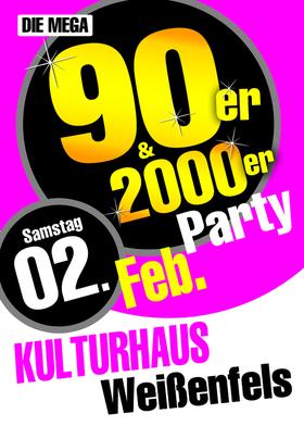 Bild: Die Mega 90er & 2000 Jahre Party