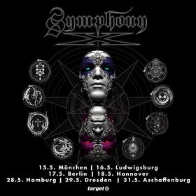 SYMPHONYX - support: Savage Messiah