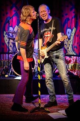 Bild: GLITTER TWINS - Rolling Stones Show