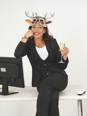 """Andrea Volk - """"Feier-Abend! Büro und Bekloppte"""""""