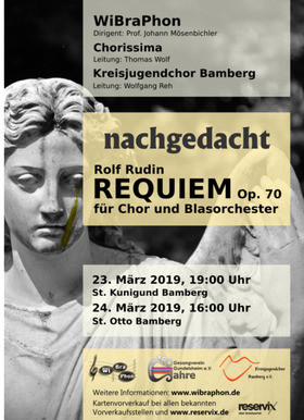 """Bild: Requiem op. 70 von Rolf Rudin - """"nachgedacht"""""""