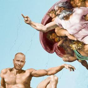 Bild: Jan-Christof Scheibe - OGODDOGOTT - Mensch, Gott, du kannst ja richtig witzig sein! KölnPremiere