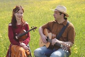 Bild: Folkmusik mit Gudrun Walter und Jürgen Treyz - Das Duo aus Cara