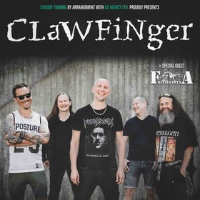 Bild: CLAWFINGER - Special Guest: FREEZES DEYNA