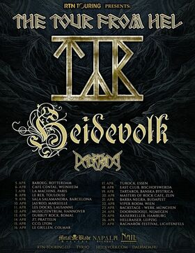 TYR - The Tour From Hel