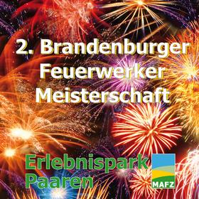 Bild: Brandenburger Feuerwerker-Meisterschaft