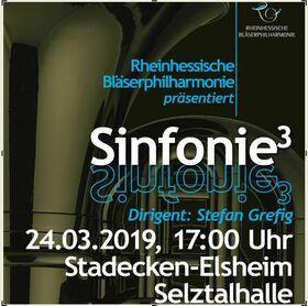 Bild: Sinfonie³ - Galakonzert 2019 der Rheinhessischen Bläserphilharmonie