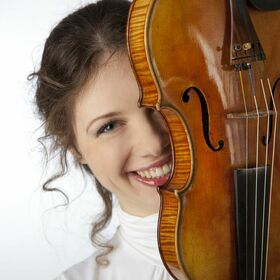 Bild: Tanz mit der Geige