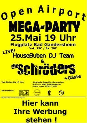 Bild: Open Airport Mega Party