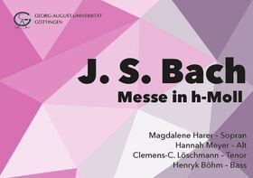 Bild: Bach: Messe in h-Moll - Göttinger Universitätschor, Göttinger Barockorchester, Leitung: Ingolf Helm