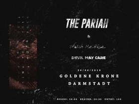 Bild: The Pariah & Watch me Rise - Spring Tour 2019 | Special Guest: Devil May Care