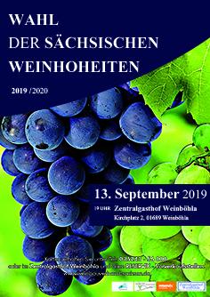 Bild: 32. Wahl der Sächsischen Weinhoheiten 2019/2020 - Gast: Uwe Steimle und sein Jazz-Trio