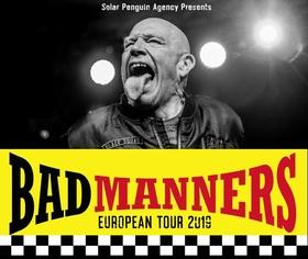 Bad Manners - European Tour 2019