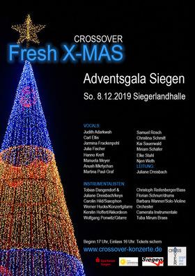 Bild: Crossover Fresh X-MAS - Adventsgala Siegen
