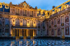 Bild: Am Hofe von Versailles