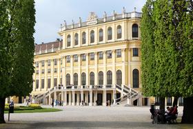 Bild: Im Schloss Schönbrunn