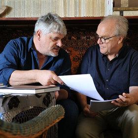 Bild: Martin Schneitewind ›An den Mauern des Paradieses‹ - Mit Michael Köhlmeier & Raoul Schrott