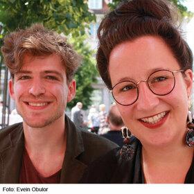 Christiane Schröter und Christopher Henning