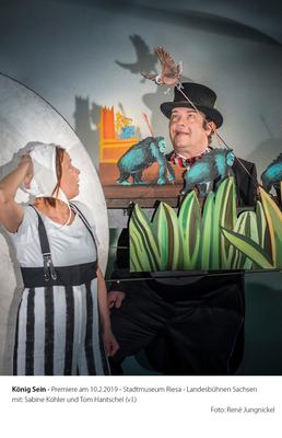 Bild: König sein - Figurentheater - Landesbühnen Sachsen