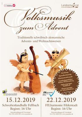 Bild: Volksmusik zum Advent - Original schwäbisch-alemannische Weihnachten